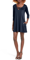 Socialite Serena Three Quarter Sleeve Dress