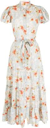 MISA Eveleigh floral-print shirtdress