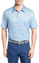 Cutter & Buck Men's Compell Print Jersey Polo