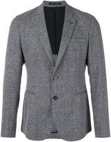 Emporio Armani two button blazer - men - Cotton/Linen/Flax/Viscose/Virgin Wool - 48