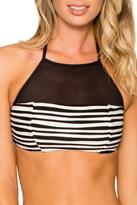 SWIM SYSTEMS Silver Lining Halter Top