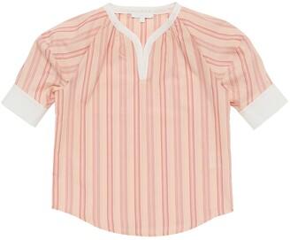 Chloé Striped Cotton Short Shirt
