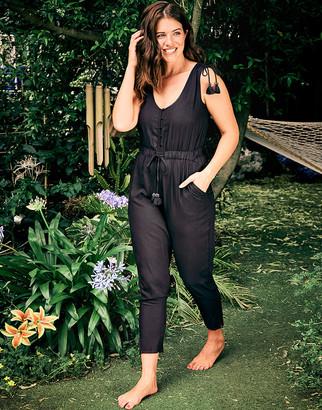 Figleaves Luana Button Through Jumpsuit