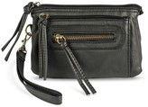 Mossimo Women's Faux Leather Wristlet Clutch - Black Supply Co.TM