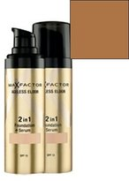 Max Factor Ageless Elixir 2In1 Foundation Plus Serum SPF 15-# 85 Caramel for Women-30Ml
