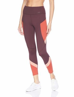 AVEC LES FILLES Women's Colorblock 7/8 Legging