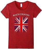 Women's Country England British Flag Vintage T-Shirt XL