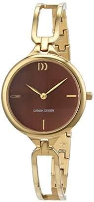 Danish Designs Danish Design Women's Quartz Watch Analogue Display and Stainless Steel Plated Strap 3320217
