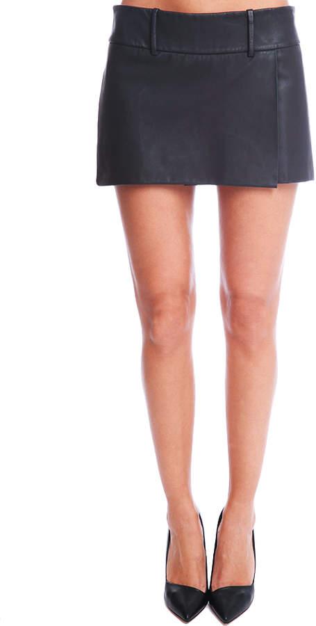 Acne Studios Roxy Leather Lea Skirt