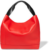 Marni Pod Two-tone Leather Tote - Red