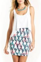 Tart Collections Print Body-Con Dress