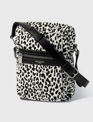Saint Laurent Zebra Crossbody Bag