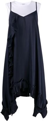 P.A.R.O.S.H. Layered Midi Dress