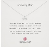 Dogeared Shining Star Shooting Star Necklace Necklace