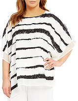 IC Collection Plus Poncho Tunic