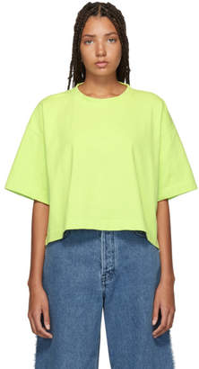 Acne Studios Green Embossed Logo Cylea T-Shirt