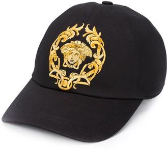 Versace Medusa motif cap