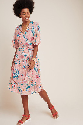 Maeve Adelaide Wrap Dress By in Assorted Size XS