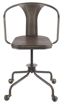 Trent Austin Design Claremont Task Chair Trent Austin Design Color: Antique/Espresso