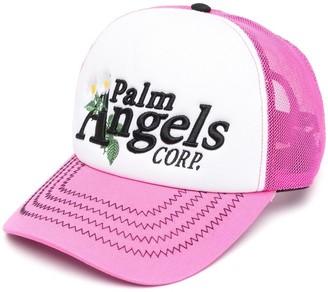 Palm Angels Daisy Logo baseball cap