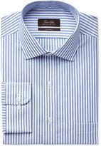 Tasso Elba Non-Iron Texture Stripe Shirt, Only at Macy's