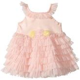 Nanette Lepore Kids - Satin Dress with Tulle Girl's Dress