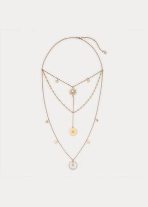 Ralph Lauren Celestial Crystal Necklace