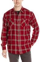 Wrangler Authentics Men's Big-Tall Long Sleeve Flannel Shirt