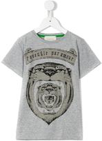 Gucci Kids - tiger print T-shirt - kids - Cotton - 4 yrs
