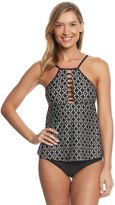 Athena Geo Oasis Cypris High Neck Tankini Top 8149100