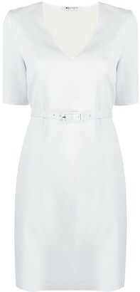 Ports 1961 V-neck belted dress