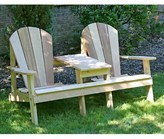 Adirondack Celso Wood Chair with Table Rosalind Wheeler