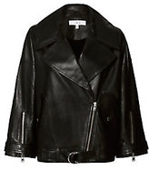 IRO Reza Oversized Lambskin Leather Jacket