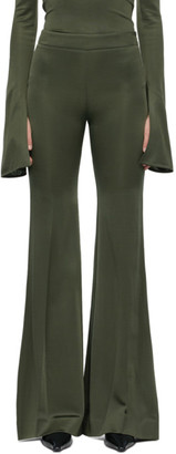 Kwaidan Editions Khaki Flared Trousers