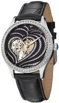Stuhrling Original Women's 429.22151 Amour Aphrodite Temptation Swarovski Crystals Leather Strap Watch
