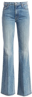 Mother The Doozy High-Rise Flare Jeans