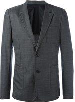 Ami Alexandre Mattiussi half lined 2 button jacket - men - Wool - 46