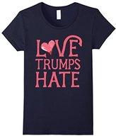 Donald Trump Women's Love Hate President 2016 Shirt XL