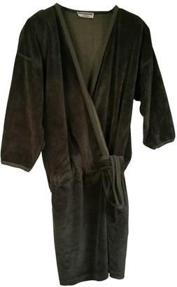 Sonia Rykiel Khaki Velvet Dress for Women Vintage