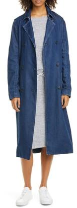 Rag & Bone Tailored Denim Trench Coat