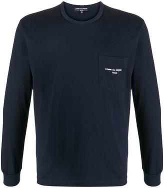 Comme des Garçons Homme logo-print cotton T-shirt