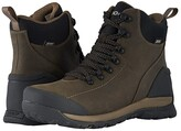 Bogs Foundation Leather Mid Waterproof Soft Toe (Brown) Men's Rain Boots