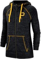 Nike Women's Black Pittsburgh Pirates Gym Vintage Team Full-Zip Hoodie