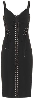 Dolce & Gabbana Embellished cady midi dress