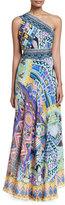 Camilla Embellished Sarong Multi-Wear Silk Maxi Dress, Alice in Essaouir