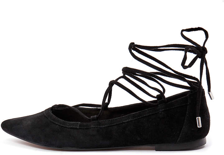 Wanted Panamas Black Shoes Womens Shoes Casual Flat Shoes