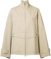 ADAM by Adam Lippes oversized windbreaker jacket - women - Cotton - XS