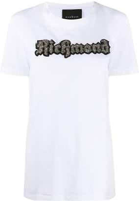 John Richmond logo patch crew-neck T-shirt