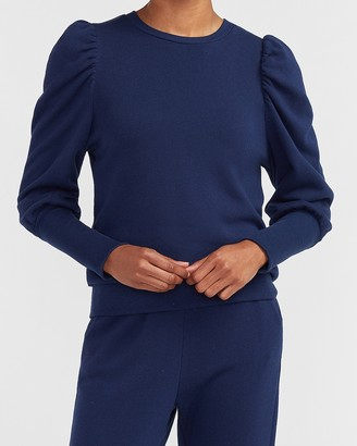 Express Blouson Puff Sleeve Sweatshirt