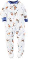 Carter's Toddler Boy Winter Print Fleece Footed Pajamas